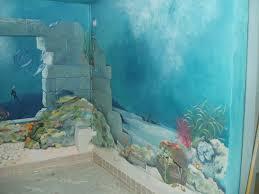 sponged walls