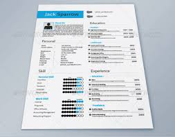 Gallery Of Indesign Resume Template