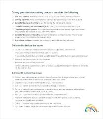 Moving Checklist Template Enchanting Moving Checklist Template Enchanting Free Office Move Checklist