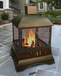 wood stove chimney sizing installing burning fireplace without liner outdoor patio