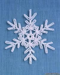 crocheted snowflakes martha stewart