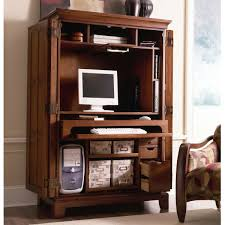 home office hideaway. home office desk armoire furniture stunning display of wood grain in a strategically hideaway
