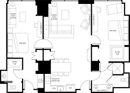 Vegas Hotels With  Bedroom Suites MonclerFactoryOutletscom - Mgm signature 2 bedroom suite floor plan