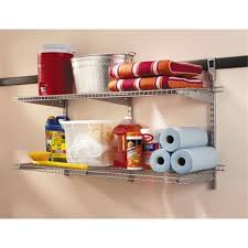 Rubbermaid Coated Wire In Cabinet Spice Rack Rubbermaid Tough Stuff Rubbermaid Tough Stuff Bracket With Two Shelf 95