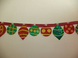 Paper Christmas Tree Ornaments Sparkling Paper Ornaments Banner Allfreechristmascraftscom