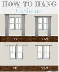 curtains office. thursdayu0027s tips u0026 tricks how to hang curtains office l