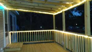 outdoor rope lighting ideas. Unique Lighting Rope Lighting Ideas Decking Lights Unforgettable For Decks Led  Solar Outside  Inside Outdoor Rope Lighting Ideas U