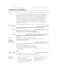 Resume Microsoft Office Microsoft Office Resume Templates Office Resume Simple Downloadable