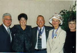 Daniel and Patricia Paul with Daughter Cerena and Myra and Larry Freeman