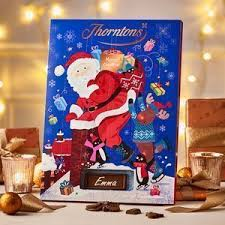 thorntons mega deal 3 x advent calendars and personalised chocolate box