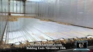 60 1995 western 48 foot aluminum walking floor trailer