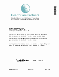 Fake Doctor Note Template Awesome Medical Note Doctor Hmo Clinic