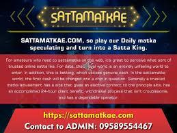 Ppt Kalyan Sattamatka Satta Matka Mumbai Chart Satta