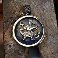 jupiter mars talisman silver limited edition