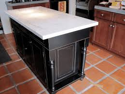 custom kitchen island ideas. Kitchen, Custom Kitchen Island Ideas Brown Minimalist Polished Granite Table Tile Floorings Square Stainless Steel