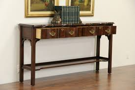 cherry sofa table. Harden Signed Cherry Sofa Table Or Hall Console M
