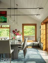 a vermont mountain home for stargazing dining room