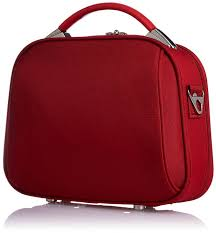 photo 1 of 10 makeup vanity box india 1 alfa polyester red softsided cosmetic case bcdianared
