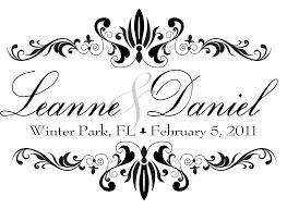 Wedding Invitation Monogram Design Free
