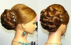 Up Styles For Prom Prom Hairstyle For Long Hair Bridal Updo Youtube