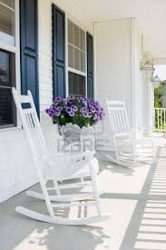 outdoor front porch furniture. Front Porch And White Rocking Chairs Outdoor Spaces For The Furniture