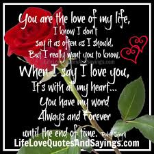 Good Morning Love Of My Life Quotes Best of Good Morning To The Love Of My Life Quotes The Love Of My Life