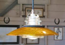glass insulator lights by railroadware upcycledzine with regard to design 4