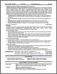 Accounting Resume Sample Interesting Corporate Accountant Resume Sample The Resume Clinic