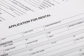 Application Form For Rental Rental Application Form Checklist What To Bring Naked