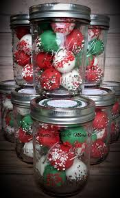 Mason Jar Cake Pops For Christmas By Pretty Pops More In Cypress