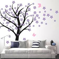 large cherry blossom wall decal terrific living room wall decals cherry blossom  wall terrific living room