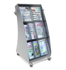 Newspaper Display Stands Custom Bartuf Outside Newspaper Display Stands