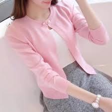 2018 <b>New Solid Color</b> Fashion Women Sweater Female Cardigan ...