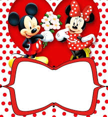 Mickey Mouse Invitation Cards Online Assa Me
