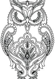Cute Owl Coloring Pages Picturesque Design Ideas Cute Owl Coloring