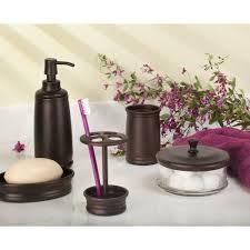 Amazon.com: InterDesign Olivia Bathroom Vanity Glass Apothecary ...