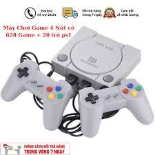 Máy Chơi Game 4 Nút có CỔNG HDMI 628 Game + 20 trò ps1, máy chơi game sup, máy  chơi game 4 nút, máy chơi game cổ điển