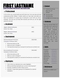 83 New Gallery Of Free Resume Templates Microsoft Word