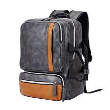 tarkan vegan leather compact 13 15 inch laptop bag