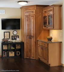 Corner pantry cabinet and also corner cabinet and also kitchen base cabinets  and also double door pantry cabinet - Corner Pantry Cabinet  Space Saving  ...