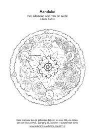 Mandala Kleurplaat By Tijdschrift Educare Archief Issuu
