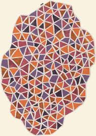 20 best geometric images on modern area rugs within odd shaped inspirations 18