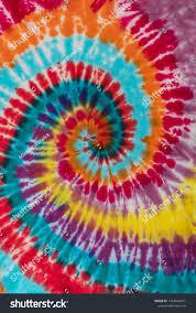 Tie Dye Swirl Design Colorful Tie Dye Traditional Swirl Pattern Stock Photo Edit