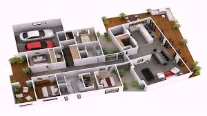 4 bedroom house plans indian style 3d