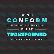 Do Not Conform To The Pattern Of This World New Do Not Conform To The Patterns Considered Coaching