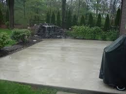 how to pour a concrete patio simple