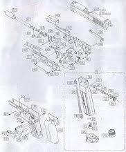 Базовые запчасти для газовых пистолетов для страйкбола ...