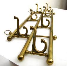 Vintage Brass Coat Rack Vintage Brass Coat Rack Hat Hook Home Chaseandscoutdesign Brass Coat 97