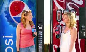 Pepsi Vs Coke Vending Machine Commercial Stunning Another Pepsi Ad Takes A Jibe At Coke Marketing Interactive