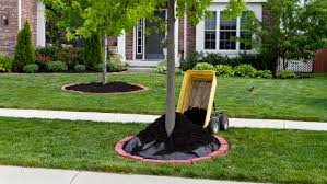 ... Mulch Dumping Cart: how to landscape your yard ...